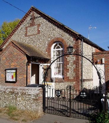 This is the Speen Village Hall in Speen, Buckinghamshire